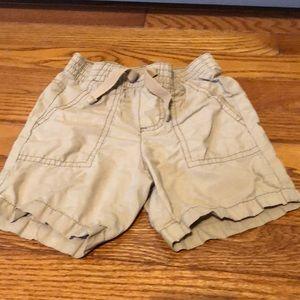 Old Navy Boys Khaki Tan Shorts Size 18-24 Months